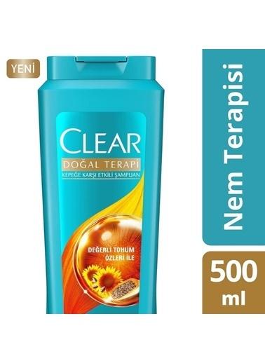 Clear Clear Şampuan Doğal Terapi Nem Terapisi 500 Ml Renksiz